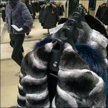 Fur Swind-Away Clothes Hangered Rack 1