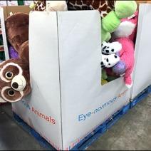 Gund Eyenormous Plush Pallet Merchandising 2