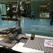 Henri Bendel In-Store Monogram Machine 1