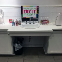 In-Store Sink Try Me 1