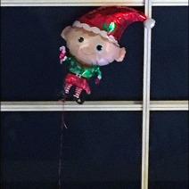 Inflatable Elf Escapes Santa 3