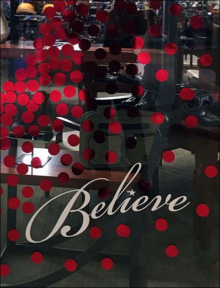 Macys Believe Window Main