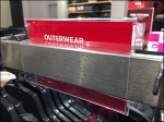 Outerwear Bar-Mount Sign Holder Rear