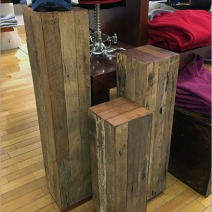 Polo St Laurent Wood Slat Pedestals 2
