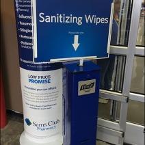 Purell Floor-Standing Sanitizing Wipes 2