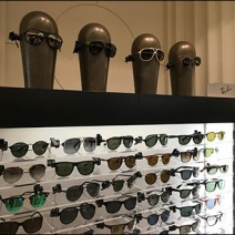 Ray Ban Alien Headforms 1
