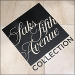 Saks Fifth Avenue Brand Floor Graphic CloseUp