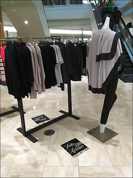 Saks Fifth Avenue Brand Floor Graphic Overall