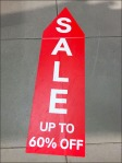 Sale This Way Floor Graphic Trail 60% Off