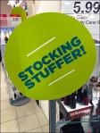 Stocking Stuffer Stick-On Front