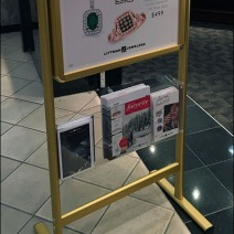 Store Entry Sign Brochure Holder 2