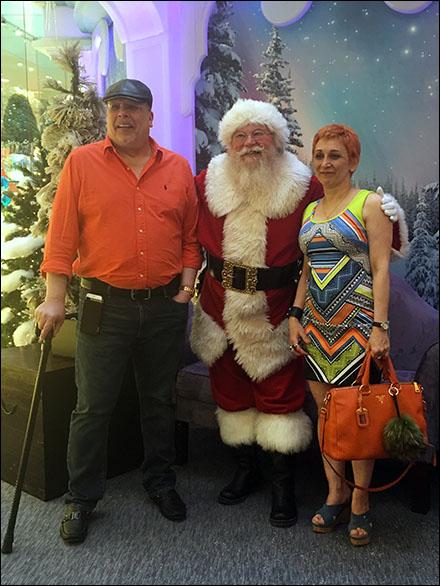 Tony, Margarit & Santa 2015 Overall