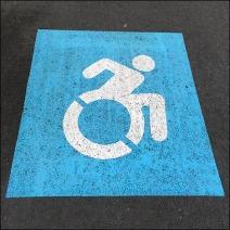 Handicapped Parking Dynamic Icon Aux