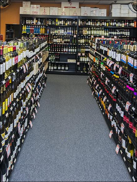 M Fried Black Straight Gondola Liquor Main 2