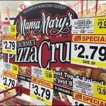 Mama Marys Semi-Castered Flatbread Rack 1