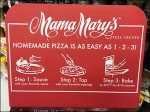 Mama Mary's Stackable Pizza POP Detail