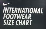 Nike International Shoe Size In-Store Chart Masthead