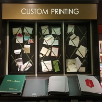 Papyrus In-Store Custom Printing Display 1