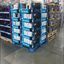 Burlington Crew Sock Pallet Merchandising 1