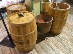Gourmanoff Produce Branded Barrel Bulk Bin Scoops Aux