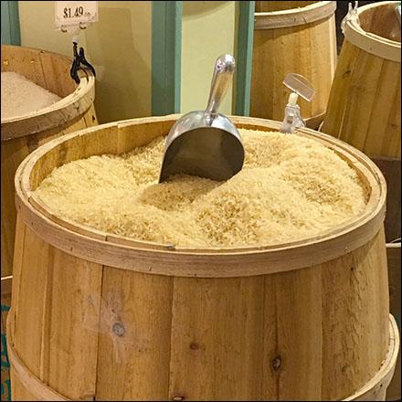 Gourmanoff Produce Branded Barrel Bulk Bin Scoops Main