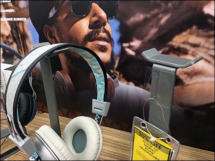 Marley Branded Headphone Stands Aux
