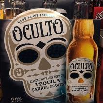 Oculto Tequila Brewed Beer 2