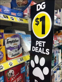 Paw-Signed Pet Deals At Dllar General 2