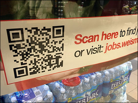 QR Scan Here for Jobs Main