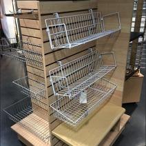 Slatwall Shelf and Basket Standoffs 1