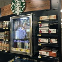 Starbucks Branded Overhead Cooler 1