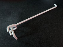 Vertical Slot Pegboard Hook Detail 2
