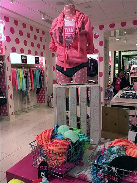 Wood Slate Crate Pedestal at Victorias Secret Main