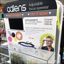 Alden® Adjustable Focus Eyewear Feature
