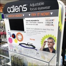 Alden® Adjustable Focus Eyewear Try Me 1