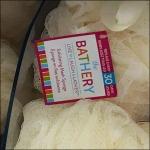 Bathery® Bath Poufs Logo CloseUp
