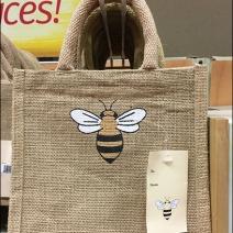 Burts Bees Lip Balm Jute Bag 1
