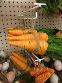 Carrots on Flip Front Pegboard Scan Hook 2