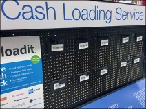 Cash Loading Card Perforated Display 2