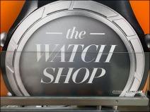 Champion Watch Shop Branded Closeup