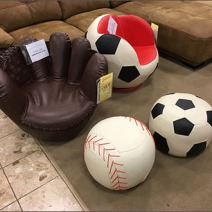 Childrens Sport Seating In-Store 1