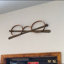 Eyeglass Frames As Wall Decor 2