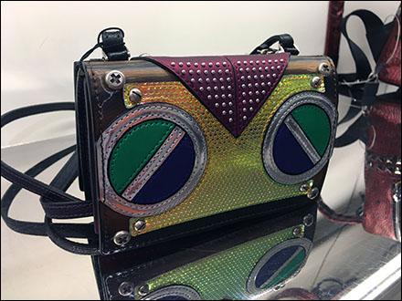 Fendi Audiophile Branded Boombox Purse Reverse Angle