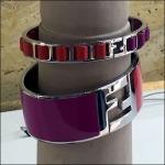 Fendi Bracelet Logos Perspective