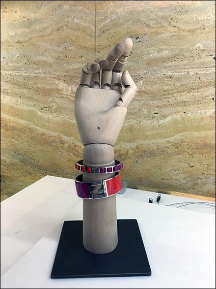 Fendi Single Handform Bracelet Front