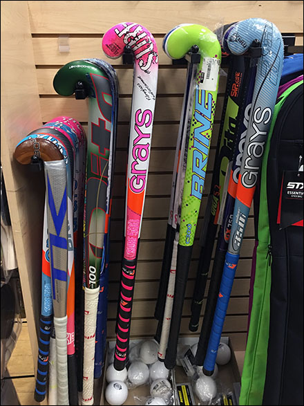 Field Hockey Faceouts Front View