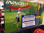 Innova Disc Golf Frisbee Header Sign