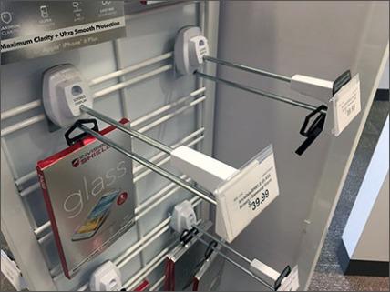 Locking Anti THeft Hook For Slatwire 1