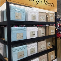 Luxury Sheet Pallet Point-of-Purchase 3