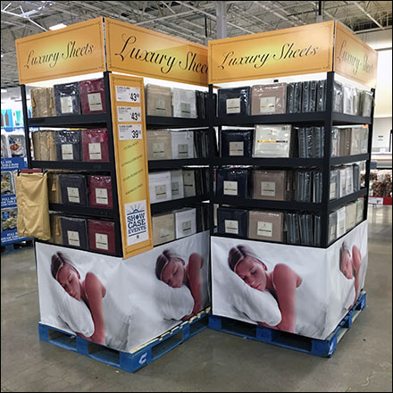 Luxury Sheet Pallet Point-of-Purchase Main